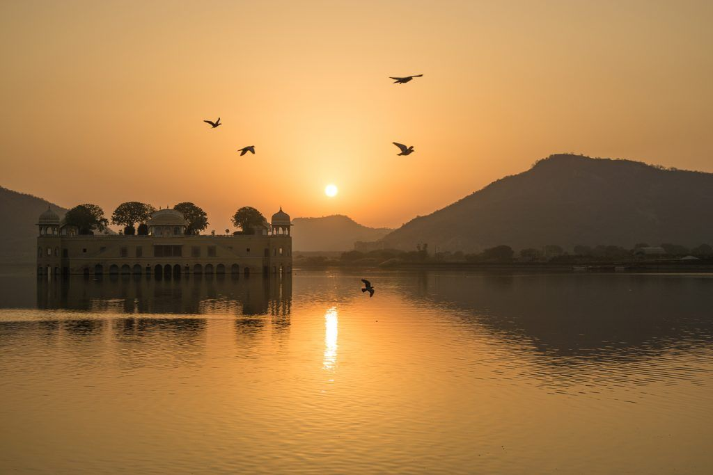 Jal Mahal Palace, Jaipur, India | National Geographic Expeditions